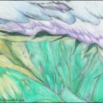 Haleakala Waterfalls in Colored