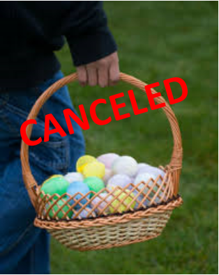 Easter Event Canceled