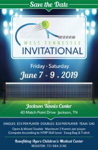 Jackson West TN tennis invitational tournament