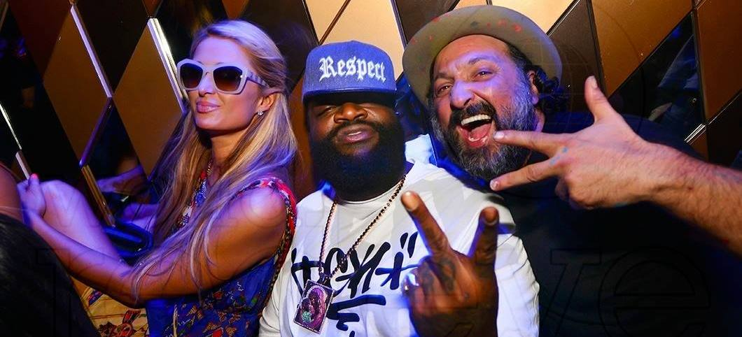 WorldRedEye- Paris Hilton Rick Ross Mr Brainwash