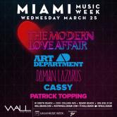 Miami Music Week 2015: Art Department + Damian Lazarus + Cassy + Patrick Topping