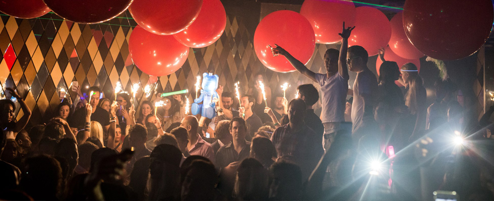 Miami Nightclub with the ultimate party vibe.