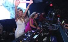 Paris Hilton DJ Set & Nicky Hilton Bachelorette Party at WALL Lounge Miami Beach