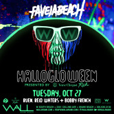 HalloGloWeen @ Favela Beach w/ Ruen+Reid Waters+Bobby French