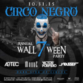Circo Negro @ Halloween at WALLmiami w/DJ Showcase