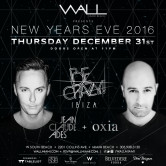 New Year's Eve 2016 at WALLmiami w/ BE CRAZY Ibiza: Jean Claude Ades + Oxia