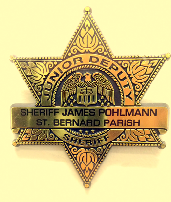 Junior Deputy badge