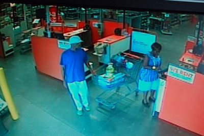 Man and woman St. Bernard Sheriff's Office is trying to identify.