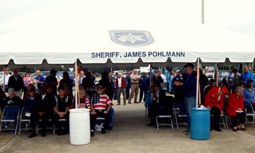 Veterans attending the ceremony.