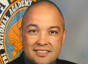 Sheriff's Dep. Lt. Stephen Ingargiola's graduation photo from the FBI National Training Academy.