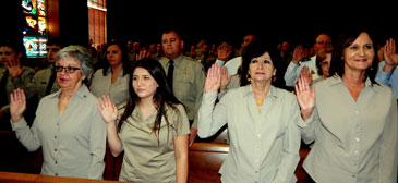 More officers sworn-in