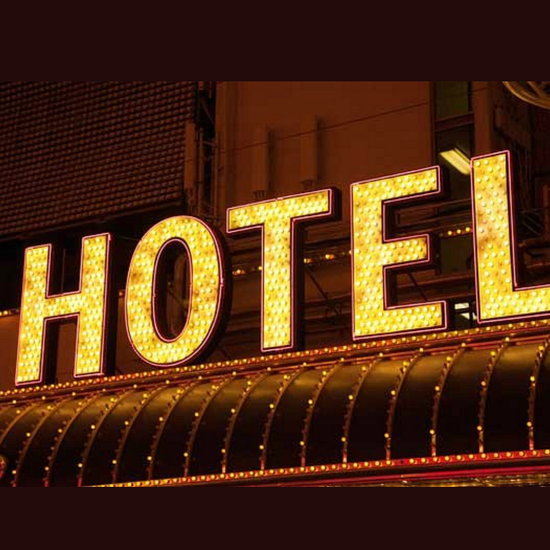Picture of Hotel sign