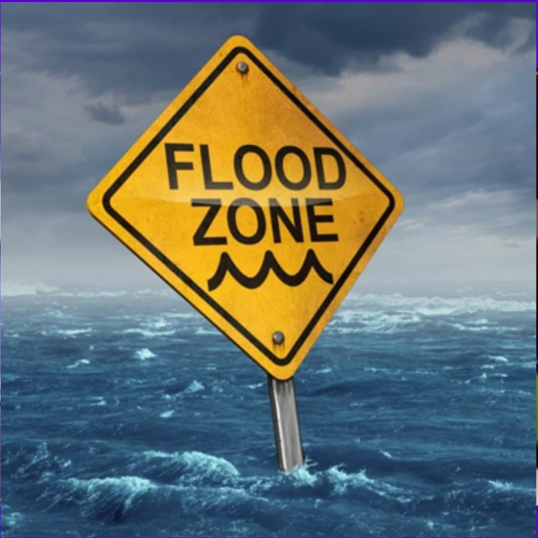 Flood Zone sign