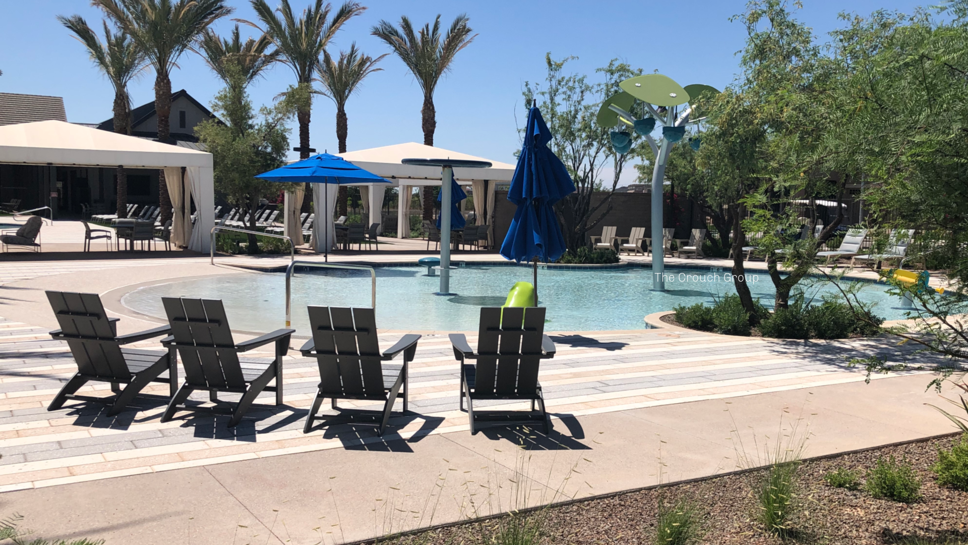 Todler Pool at Union Park at Norterr homes for sale
