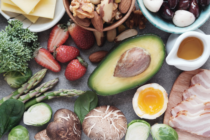 Some of the food included in the keto diet