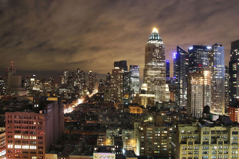 Moody Night in Gotham