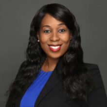 Issues Committee Chair Emmanuela Petion