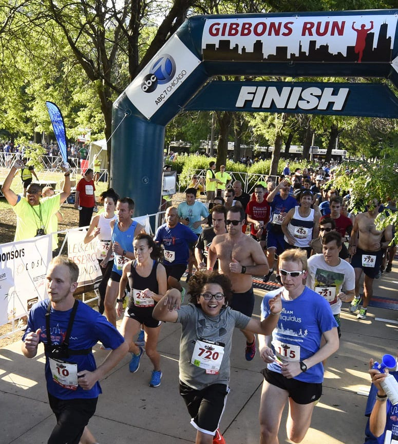 Photos of 23rd Annual ABC 7 Gibbons 5K Run & 3K Walk at Grant Park in Chicago, IL on thursday June 15, 2017