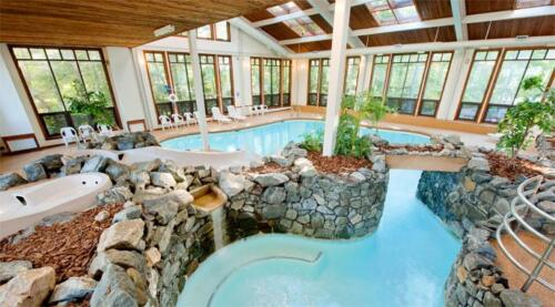 The Summit Resort Laconia NH indoor pool