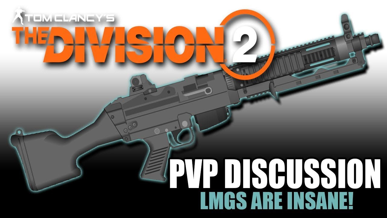 LMG Tank build for division 2 pvp pve or raid