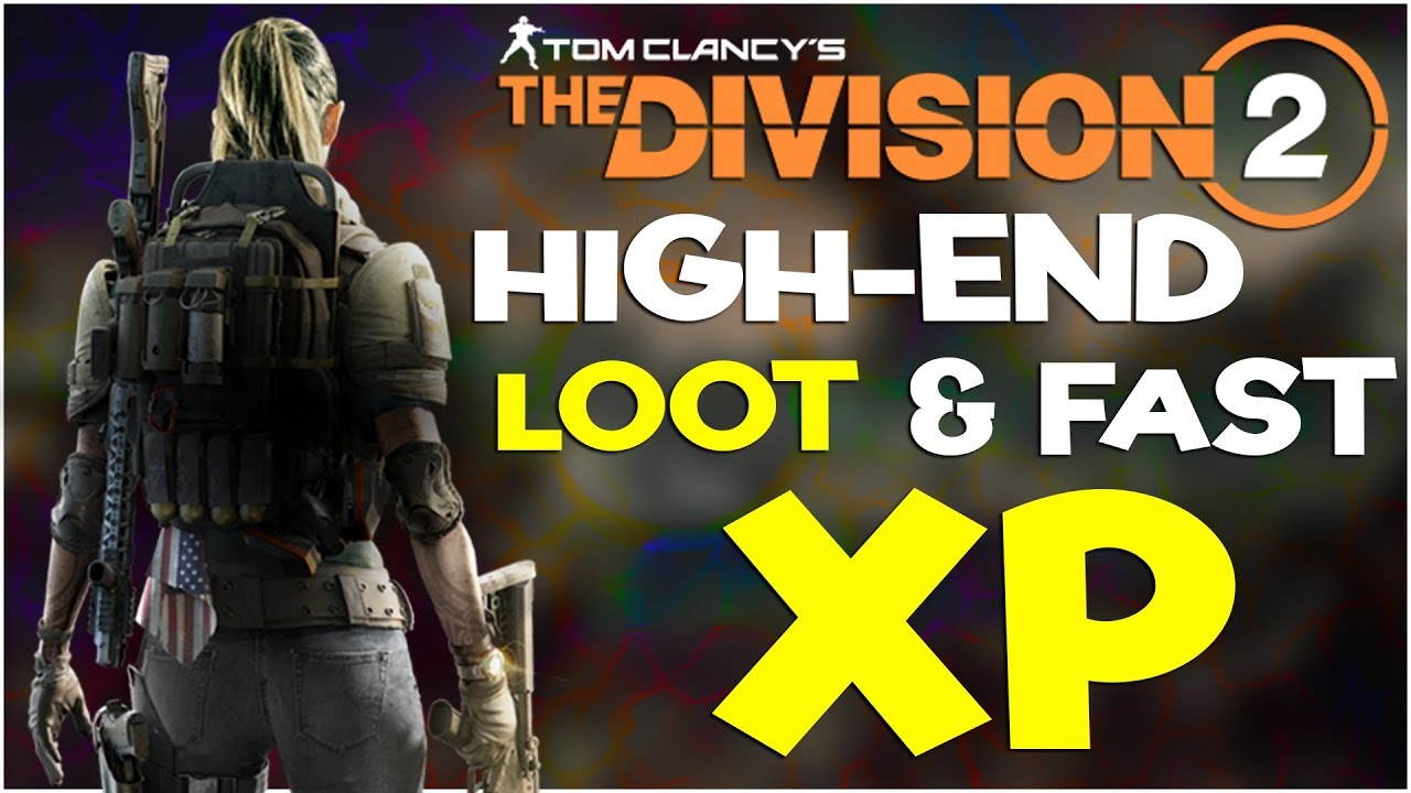 The Division 2 – LOOT CAVE UNLIMITED HIGH ENDS & CACHES !!