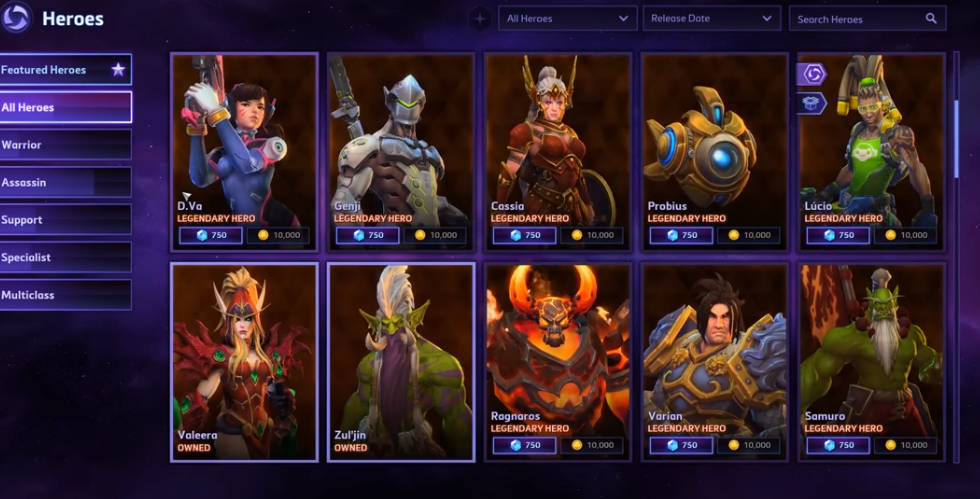 Heroes of the Storm Review (2018)