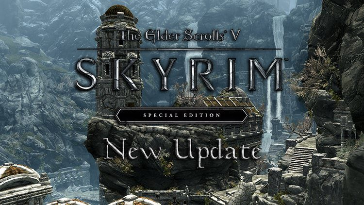 Skyrim Got a 2GB Update