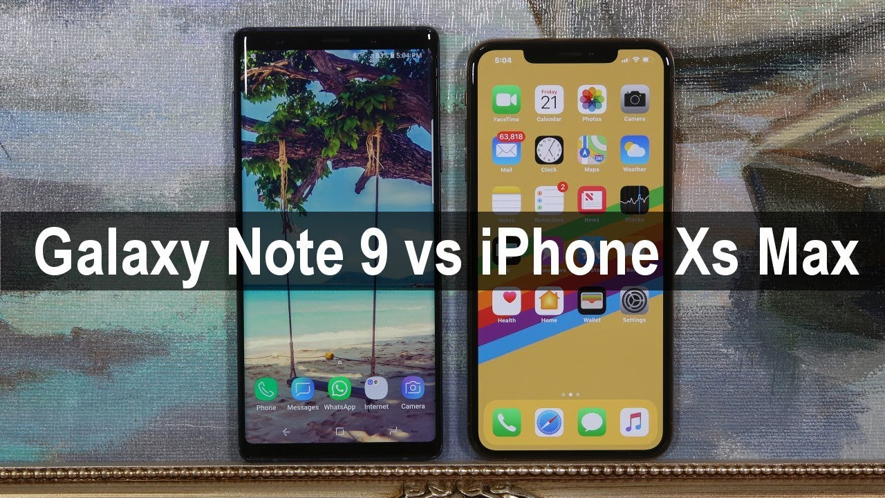 Fortnite: iPhone XS Max vs Note 9 – Which phone for gaming?