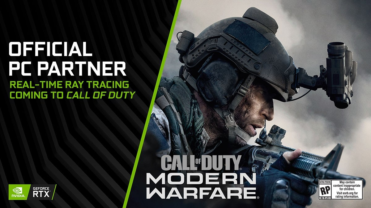 Call of duty GeForce rtx ray tracing