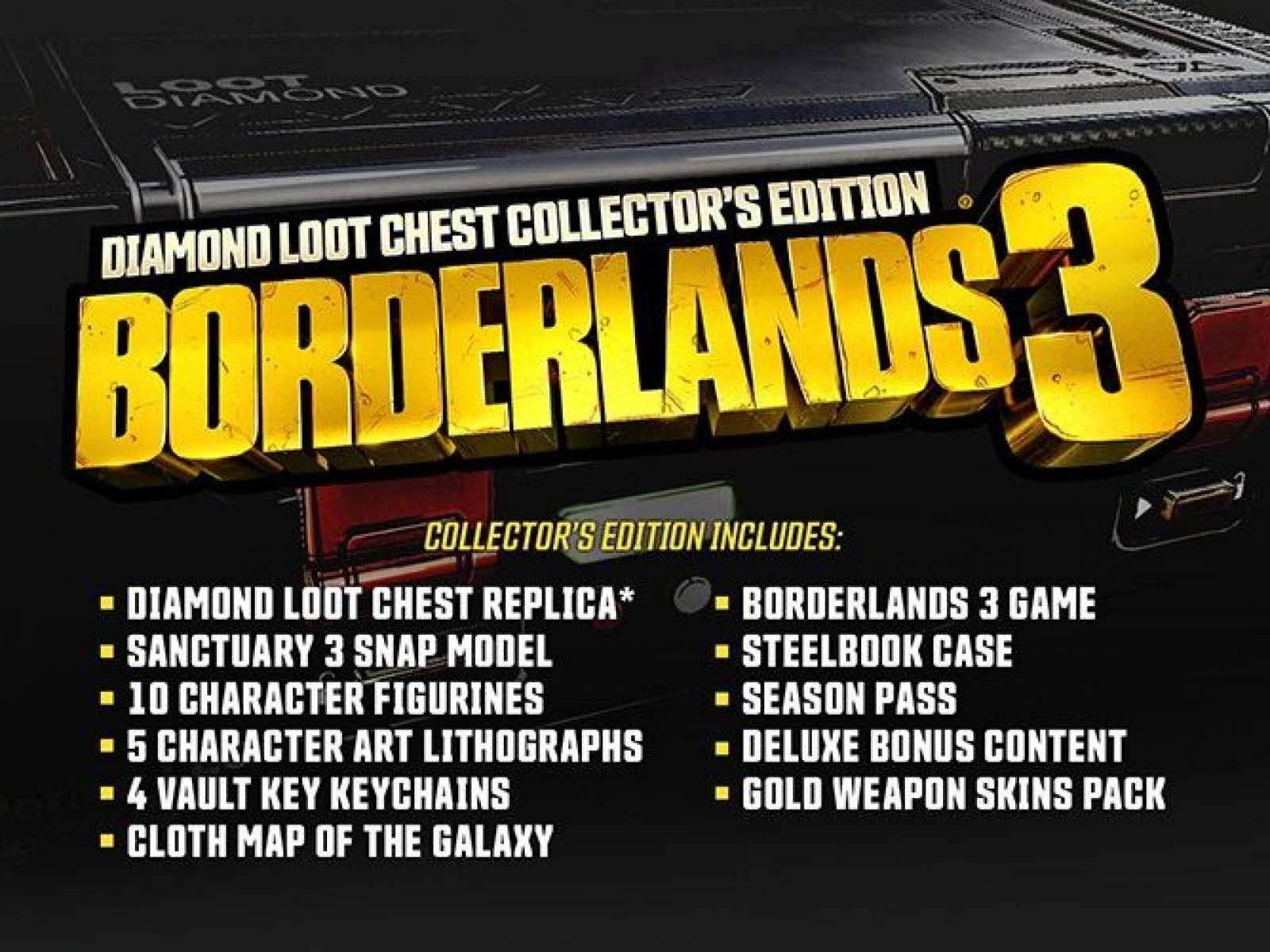 Borderlands 3 Diamond Loot Chest Super Deluxe Edition Unboxing – IGN First