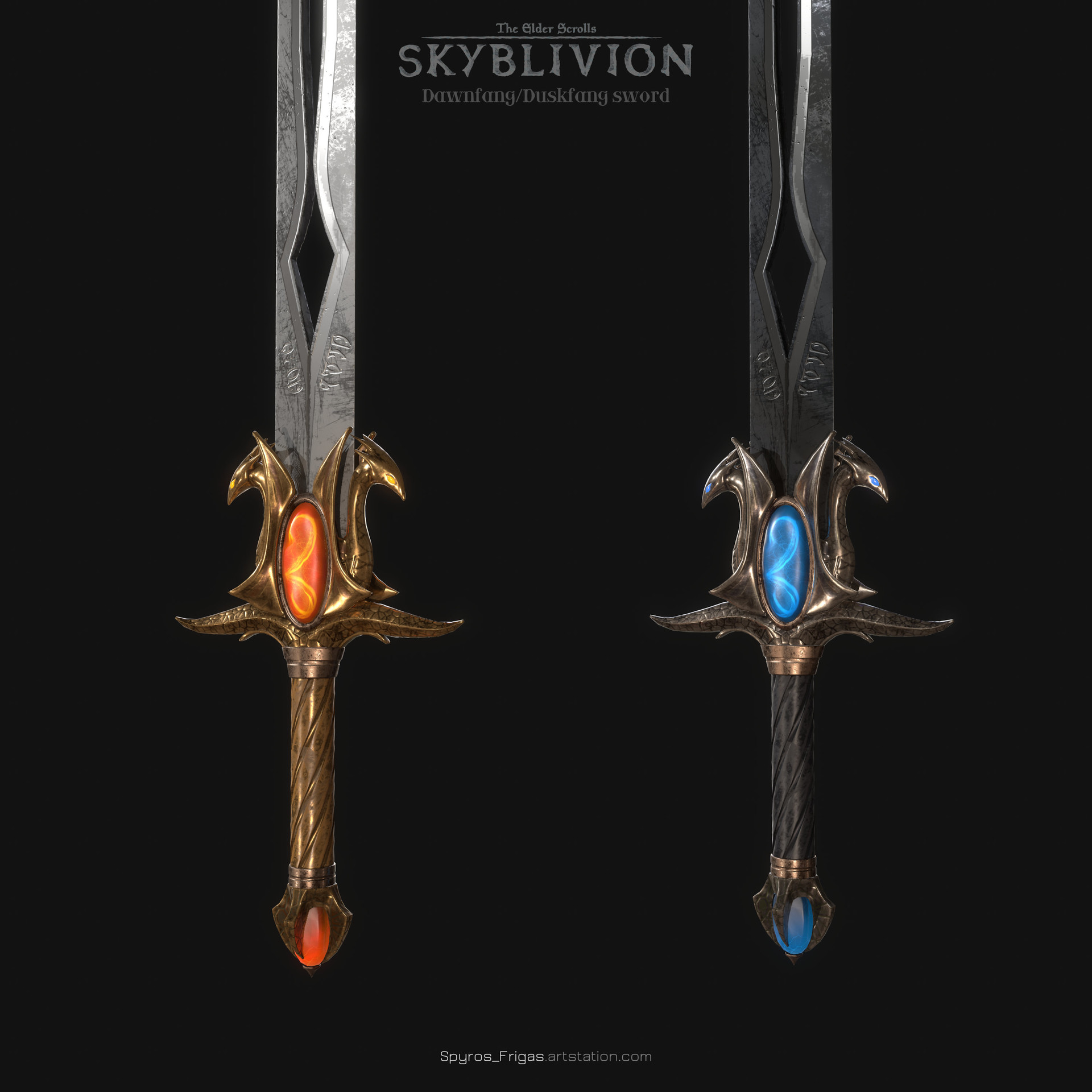 The LEGENDARY SWORD – Dawnfang and Duskfang EXPLAINED! – Elder Scrolls Lore