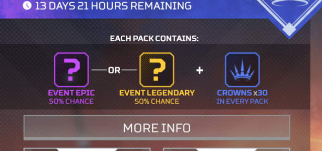 Apex legends iron crown loot boxes