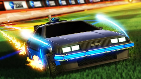How we extended the map in Rocket League for an intense 1v1