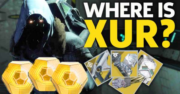 Destiny 2 | XUR'S NEW EXOTICS & GEAR ROLLS! Xur Location, ARBALEST, Bounty & More | 23rd August 2019