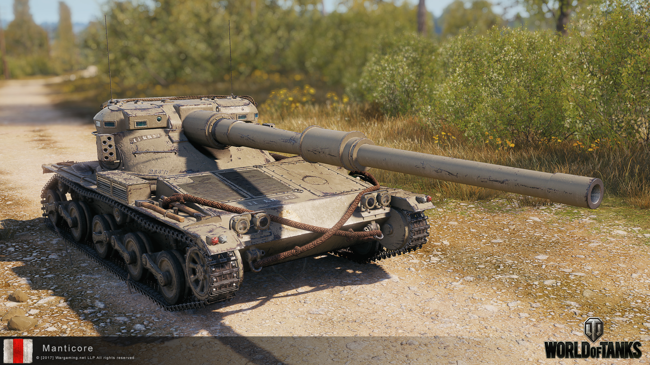 World of Tanks || The Manticore