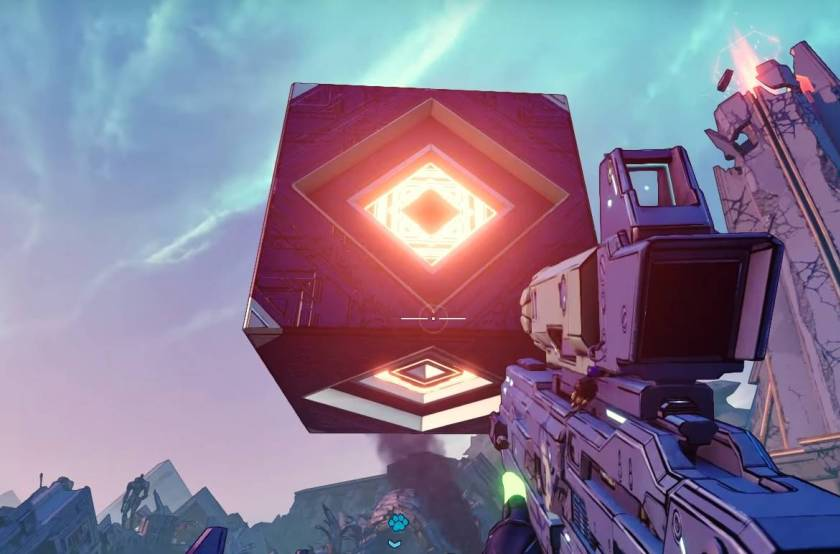 Borderlands 3   Mysterious Floating Cube Puzzle Solved (Crazy Reward!)