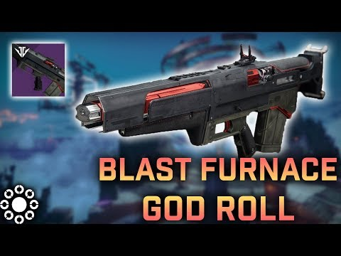 Best Pulse Rifle Ever – The God Roll BLAST FURNACE (Destiny 2 Black Armory)
