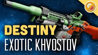 "Destiny 2 – ITS BACK ""KHVOSTOV 7G"" AUTO RIFLE RETURNING !!"