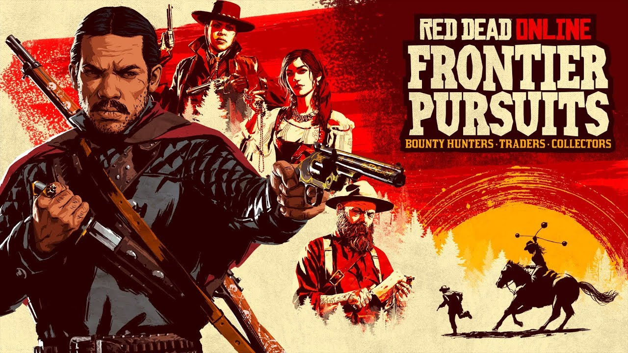 Red Dead Online Frontier Pursuits Official Trailer