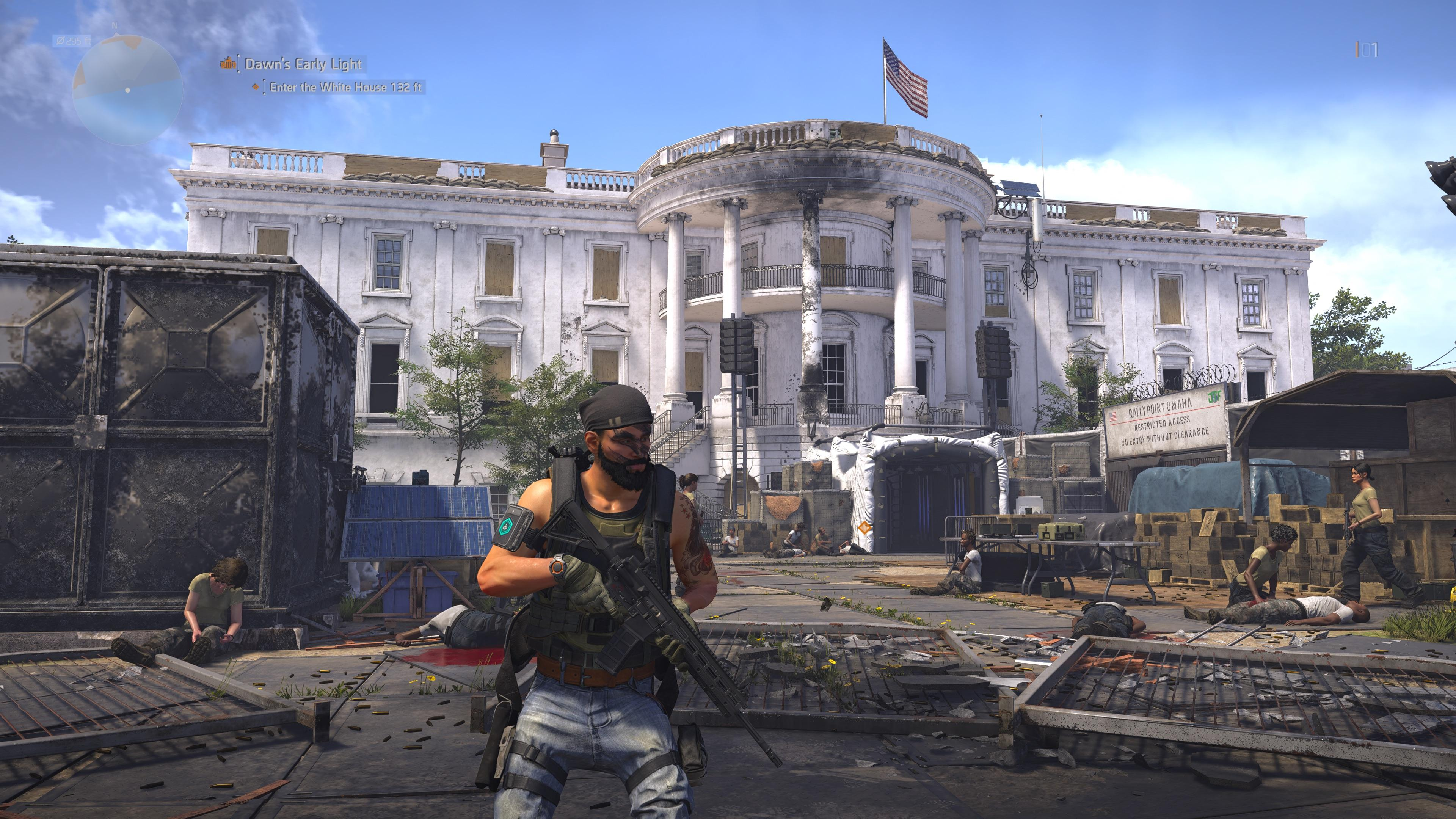 New Room In The White House – Story/Lore | The Division 2