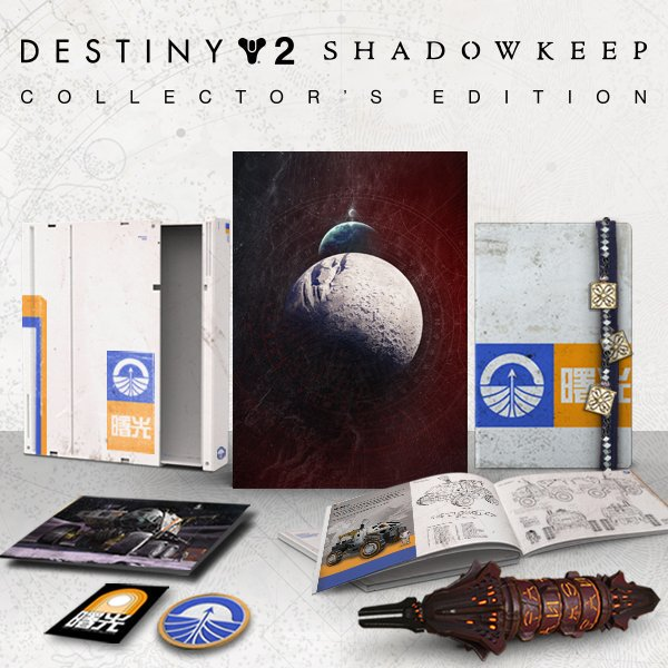 "Destiny 2 ""SHADOWKEEP"" Collector's Edition Unboxing"