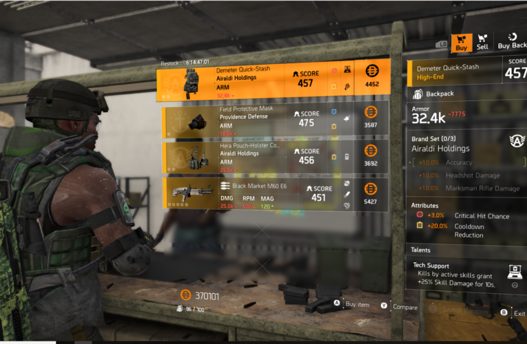 The Division 2 | Weekly Vendor Reset | 29 October | Must Buys!!