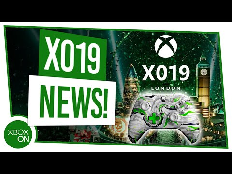 X019 Exclusive Xbox Controller Reveal
