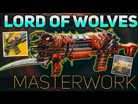 Lord of Wolves Masterwork (Exotic Catalyst Review)   Destiny 2 Season of Dawn
