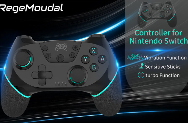 50% off Wireless Switch Pro Controller Joystick, RegeMoudal Nintendo Switch [2020 Upgraded Version]