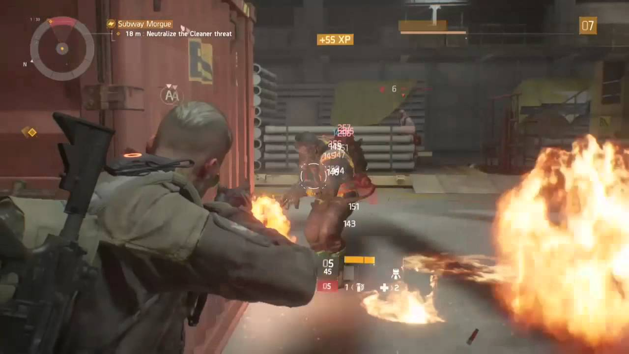 division 2 flame thrower update