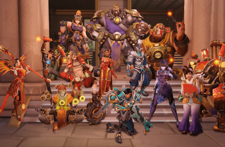 Overwatch: All Lunar New Year SKINS! – Jeff Talks MASSIVE Role Queue Overhaul