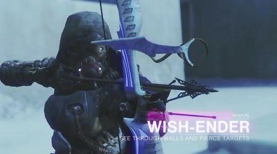 Wish Ender One Shot Supers PVP – 1 Body Hit Through Walls In Crucible – Game Breaking?
