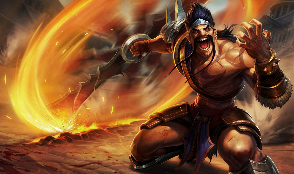 Draven League of Legnds Gameplay guide