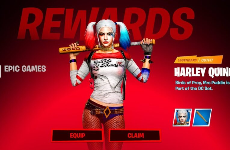 New HARLEY QUINN Skin EARLY Gameplay!! (Fortnite Battle Royale)